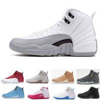 2018 TOP 12 high cut basketball shoes for men 12s white blac...