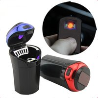 Car Ashtray Portable Cigar Cigarette Ashtray Smokeless with ...