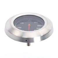 대형 라운드 온도계 120 학위 스테인레스 스틸 바이메탈 바베큐 식품 육류 온도계 온도 측정기