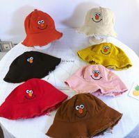 Cappelli a secchiello per bambini di alta qualità con cappello pescatore  divertente espressione pieghevole 100% 371b73b69ecd