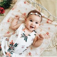 91f4c21a735 New Arrival. Baby Girls Rose Flower Headband Kids Ribbon Rose Bows Hairband  Infant Girls Hair Bow New Born Baby Photography Props ...