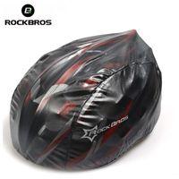 ROCKBROS Чехол для велосипедного шлема Сверхлегкий ветрозащитный пылезащитный чехол от дождя MTB Чехол для велосипедного шлема Аксессуары для велосипедных шлемов