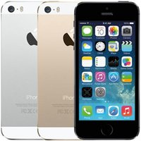 "10 pcs refracted Original Unlocked Apple iPhone 5S WITH fingerprint iOS A7 4.0 "" 8MP IPS HD GPS 16GB 32GB ROM Dual core Phones"