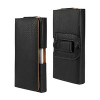 for LeEco Le 2 Universal Belt Clip PU Leather Waist Holder Flip Pouch Case for LeEco Le 2