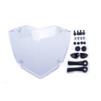 Para BMW R 1200 GS LC Adventure Protector de faro transparente Protector de faro