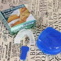 DHL Free anti russare Snore Stopper Set anti-parapolvere molare Contenitore anti russare contenente scatola