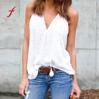 Women Pullover Solid T- Shirt Sleeveless Casual Blouse