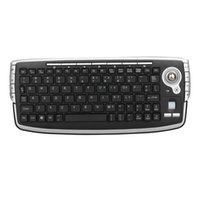 G13 Mini Keyboard 2. 4G Wireless Trackball Keyboard With Mous...
