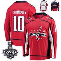 8f7deff5451 New Arrival. 2018 Stanley Cup Final Washington Capitals Brett Connolly  Stitched Jerseys ...