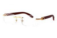 Uomini lusso corno di bufalo bianco occhiali bambù occhiali da sole in legno stili di estate fashion designer di marca occhiali da sole in legno per le donne di sesso maschile con la scatola