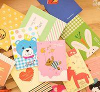 한국어 편지지 토토로 미니 노트북 만화 작은 책 귀여운 선물 메모