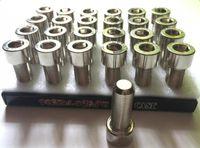 Серебряный Болт Секретный Hidden хранения Safe Box Metal Pill Case Screw Box Case Шкатулка Контейнер с дисплеем Пакет моды Tool