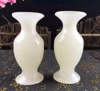 Factory direct natural jade jade vases wishful decoration gi...