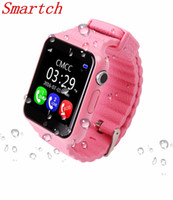 Smartch Children Security GPS Smart Watch V7K 1.54 '' Экран с камерой facebook SOS Call Location Devicer Tracker для IOSAndro
