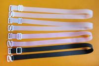 여성용 컨버터블 브라 실리콘 스트랩 1.5cm 폭 조절 가능한 탄성 속옷 숄더 스트랩 인 티츠 액세서리 60pairs / lot