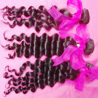Exotic Young Star Virgin Malaysian Loose Deep Wave Human Hai...