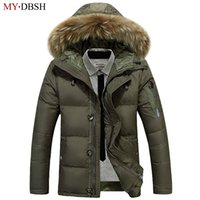 MYDBSH  New Arrival Male Jacket High Quality Men Autumn Winter Clothing Man Casual Jackets Fashion Zipper Warm Hooded Coats