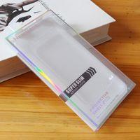 Universal PVC Retail Package Plastic Packaging Caixa Caixas Com Insert Para iPhone XS MAX X XR 7 8 Samsung S9 S8 S7