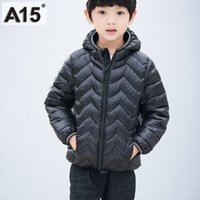 Children Winter Jacket for Boys Kids Down Jacket Hooded Warm...