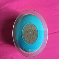 2018 Yeni Bluetooth Hoparlör Su geçirmez Kablosuz Duş Eller serbest Mikrofon Emme Chuck Hoparlör Oto Hoparlör Taşınabilir Mini MP3 Süper Bass alın