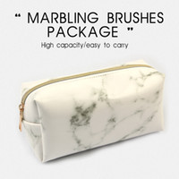Discount HOT Sale Cosmetic Bags marble Makeup Bag Portable M...