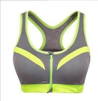 2020 قميص جديد Coolmax وضد الصدمات الرياضة البرازيلي للنساء لياقة الجمنازيوم القمصان في الهواء الطلق تشغيل الركض مع الداخلية الوسادة زيبر قمصان البرازيلي