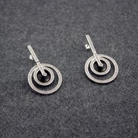Women S925 Hollow Silver Diamond Earring Switzerland P Desir...