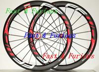 شحن مجاني! F5R الكربون عجلات النقطة الفاصلة 50mm أنبوبي الطريق دراجة الكربون عجلة 700C العرض 25mm الدراجة الطريق