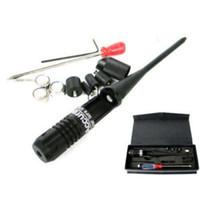 Taktik 650nm Tüfek Kırmızı Collimador Lazer Çap Sight Kapsam. 22 to. 50 Kalibreli Yeni Stil 3 Pil Kolimatör Yeni Varış