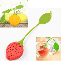 Mini Tea Strainer Silicone Teabag Tea Leaf Strainer Infuser ...