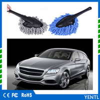 Mini Wax Brush Microfiber Car Duster Brush Wax Mop Truck Cle...
