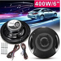 2pcs pair 6 Inch 400W Car Door SubWoofer Coaxial Audio Stere...