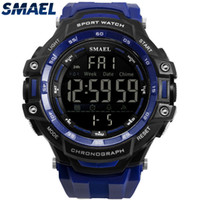 SMAEL Nueva Moda Casual Reloj Hombres Electronic Digital LED Army Watch 5Bar Impermeable Deporte relogio masculino