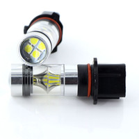 2pcs High Power White P13W 100W 3030 20SMD LED Bulbs For car...