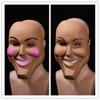 2018 новый анфас клоун маски для женщин Леди девушка Маскарад Рождественский бал Хэллоуин костюм партии крышка