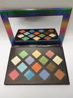 Marchio di bellezza Makeup Palette Eye Shadow Galaxy Plaette 14 colori opachi di luccichio Long Lasting Eyeshadow Cosmetic 14 sfumature trasporto libero
