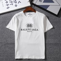 Womens Mens 2018 New Fashion T Shirt con marchio Lettera Stampa Fashion Designer Top Tees manica corta T-shirt casual S-2XL Nuovi arrivi