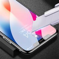 5D Full Cover Verre Trempé Pour iPhone X 6 6S 7 Plus Protecteur D'écran Plein Film De Protection Pour iPhone X 8 Plus Verre