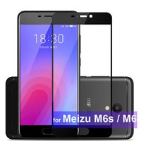 WeeYRN Protective Glass for Meizu M6s M6 Full Coverage Tempe...