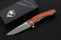 Free Shipping, MAXACE Studio Midnight Cat ZEALOT folding knif...