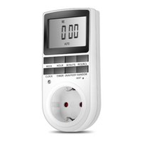 EU US Plug Portable Plug- in Digital Timer 24h 7day Week with...