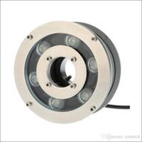 cor branca LED luz subaquática praça da fonte à prova d 'água luzes DC 12 V DC24V tempo de longa vida IP68