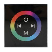 86 نوع الحائط LED RGB تحكم لوحة اللمس تحكم DC12V-24V 4A * 4CH ل 5050 3528 قطاع الصمام الخفيفة