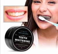 Poudre de blanchiment des dents chaude 100% bambou naturel charbon activé sourire de dent poudre de décontamination dent tache jaune dentifrice au bambou