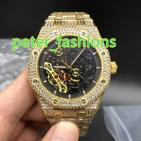 Gold Diamond Luxury Men' s Watches High Quality Fashion ...