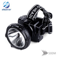 Shustar Rechargeable LED headlamp Ultra Bright headlight Bui...