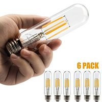 Leadleds LED Edison Bulb 40 Watt Equivalent, Non Dimmable E2...