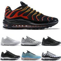Discount 97 Plus Mens Womens Running Shoes Fire Red Light Gr...