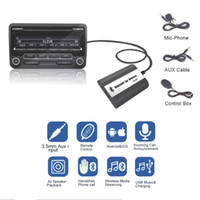 Car Bluetooth A2DP MP3 Music Adapter USB Charger Part Car- st...