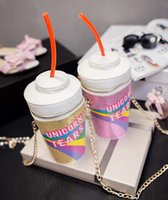 40pcs Straw Coke Bottle Shape Bag Women Girls Little Purse B...